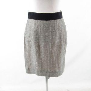 J. Crew gray pencil skirt 2